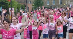 Cheer point Race For Life