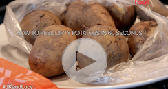 JK And Lucy's How To Peel Potatoes Video Still