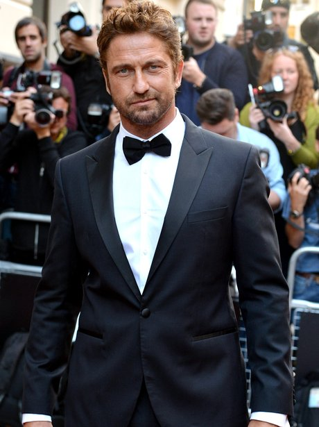 Gerard Butler at the GQ Awards 2014