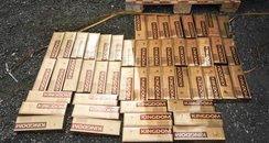 Smuggled cigarettes Essex