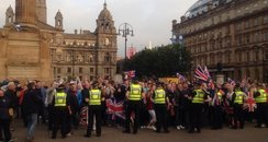 George Square trouble