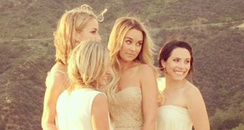Lauren Conrad & bridesmaids