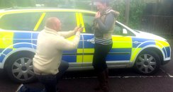 Police car proposal in Somerset