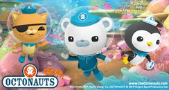 The Octonauts At SEA LIFE Manchester
