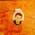Pendant with photo of Christopher Hardman