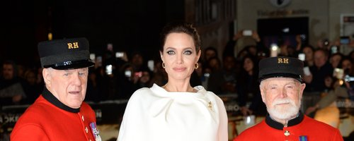 Angelina Jolie Unbroken premiere London