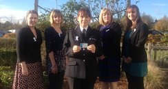 white ribbon hertfordshire police