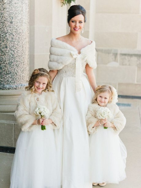 Stunning Winter Wedding Dresses : The most beautiful winter wedding dresses beauty style heart