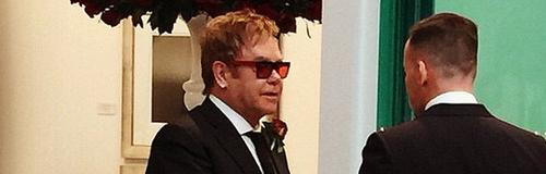 Elton John and David Furnish Wedding 2014