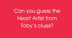 Toby's Guess The Heart Artist Game