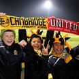 Cambridge United v Manchester United