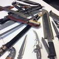 weapons seized by GMP