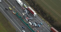 Overview of M40 crash