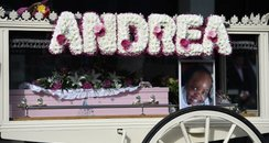 Andrea Gada's funeral took place in Eastbourne