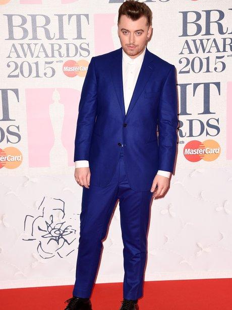 Sam Smith at The Brit Awards 2015