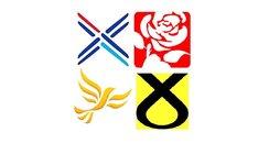 Scottish election logos