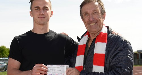 Bristol City star Joe Bryan gives ticket to fan