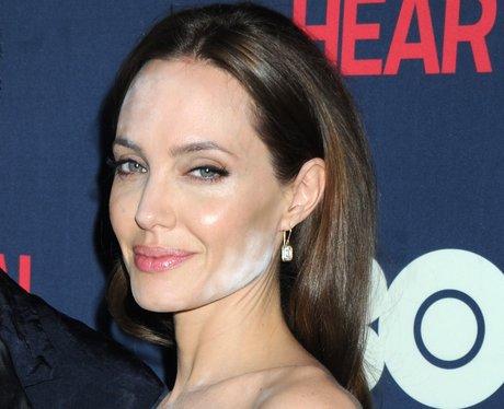 Angelina Jolie make-up mistake