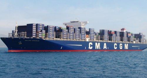 CMA CGM Kerguelen container ship Southampton