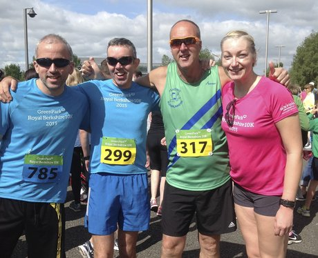 Royal Berkshire 10k: Before the race