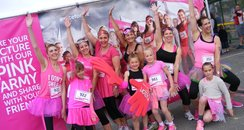 Heart Angels: Falmouth Race For Life 2015 - Start
