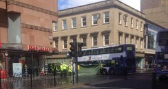 bus Queen Street Glasgow
