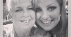 Happier times with mum Valerie