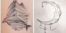 Graphic Art Tattoos Canvas