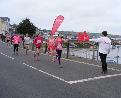 Penzance Race For Life 2015 Cheer Point