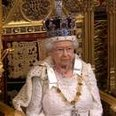 The Queen opening parliament