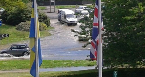 Hemel Burst Water Main
