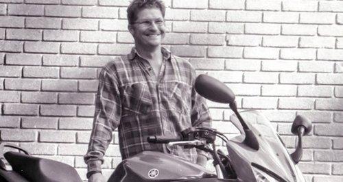 Jonathan Hawes biker Isle of Wight death tribute