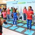 Scottish Gas Generation Green Dance Floor