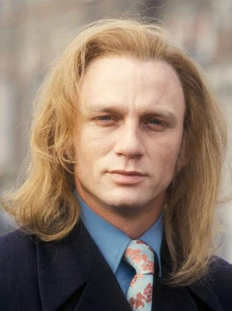 It seems James Bond hasn't always been quite so slick ...  Janoskians