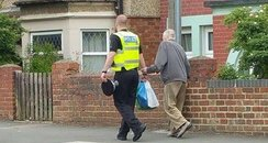 Northampton Policeman Viral Picture