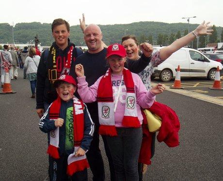 Wales v Belgium 2015