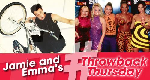 Jamie & Emma's Throwback Thursday