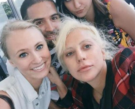 Accept. The lady gaga without no makeup remarkable, rather
