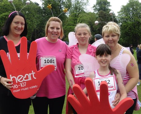 Race For Life in Cannon Hill Park!