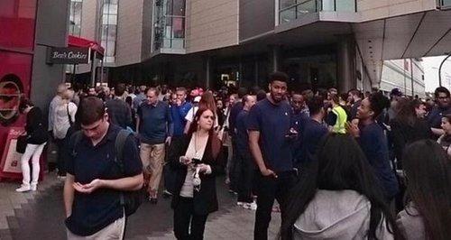 Westfield Evacuation