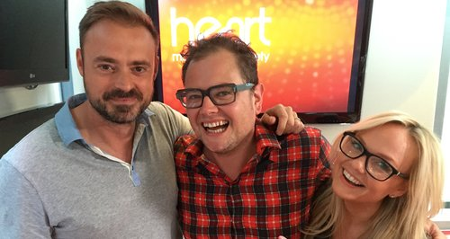 Jamie & Emma Chat To Alan Carr