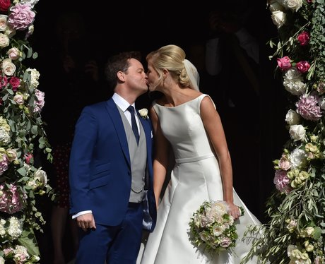 Declan Donnelly And Ali Astall's wedding