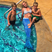 1. Britney Spears rocks a tail during a pool day with her two adorable sons.