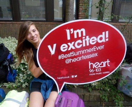 We're V Excited!!
