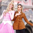 Perrie Edwards Visits Disney Land