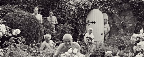Men pose naked for charity calendar