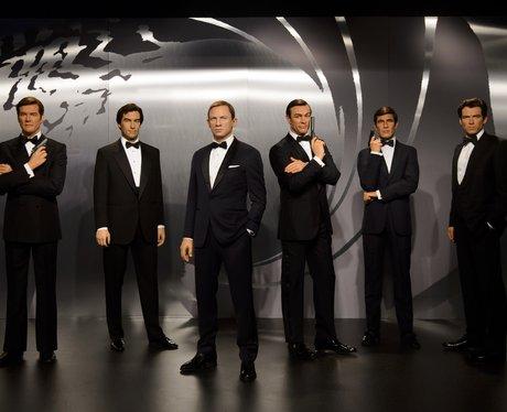 James Bond at Madam Tussauds