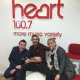 Ben Haenow with Ed & Rach