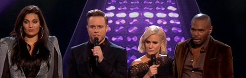 Olly Murs X Factor blunder