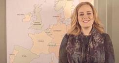 Adele tour announcement